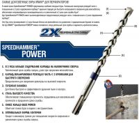 Бур по бетону Speedhammer POWER (5/110) Irwin 10507124