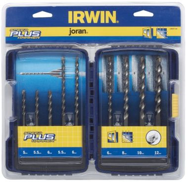 Набор буров по бетону Speedhammer SDS-plus (9 шт) Irwin 10507110 ― IRWIN